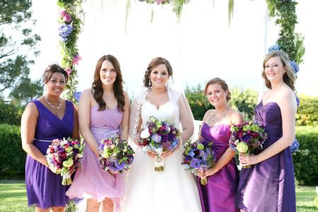 Mismatched Bridesmaids Dresses