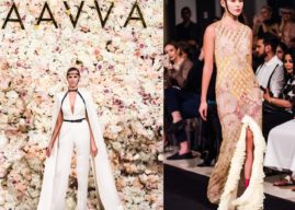 Pop Art Meets Romanticism at AAVVA's First Fashion Show!