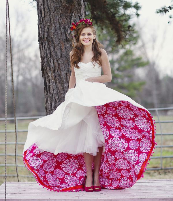unusual-colored-ball-gown-wedding-dress | magnificentonline